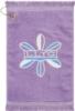 Premium Fringed Golf Towel w/ Corner Hook & Grommet