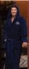 Terry Velour Hooded Robe