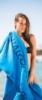 Oversized Velour Terry Beach Towel
