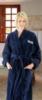Terry Velour Shawl Collar Robe