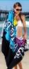 Custom Fiber Reactive Premium Terry Velour Beach Towel