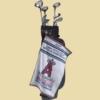 Terry Jacquard Caddy Golf Towel