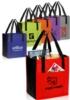 Dual Pocket Non-Woven Shopping Tote Bag - 13
