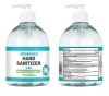 17 oz Hand Sanitizer Round Body with Pump - 75% Alcohol