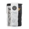 13.5 oz. Stainless Steel Travel Mugs with Geometric Pattern - BPA Free