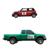 Square Car and Truck Magnet/ 30 Mil (18
