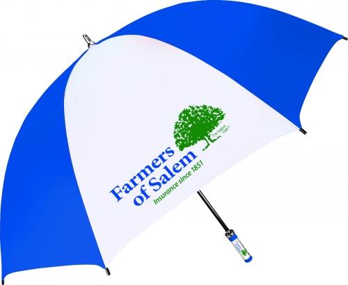 Classic ID Handle Sporty Fiberglass-Shaft Golf Umbrella