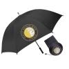 Medallion Rubber Handle Golf Umbrella without Custom Medallion