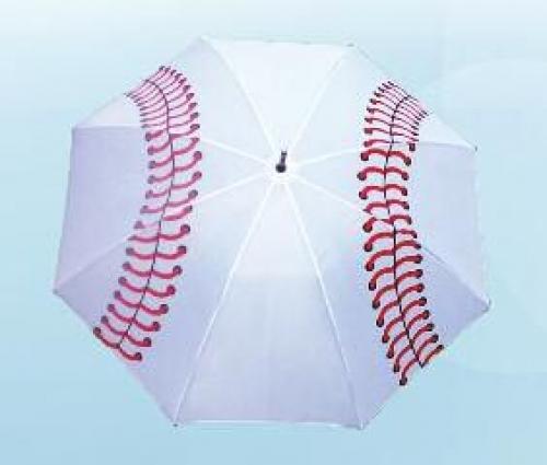 Sporty Wood Shaft Baseball Golf Umbrella