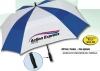 The Square Auto Open Vented Golf Umbrella