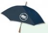 Oak Handle Stick Umbrella with medallion option