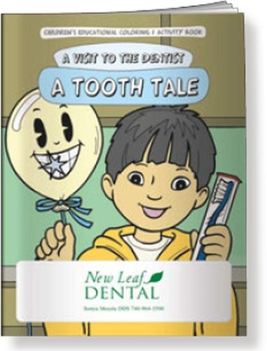 Coloring Book - A Visit to the Dentist: A Tooth Tale