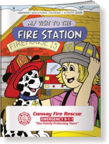 Coloring Book - My Visit to the Fire Station