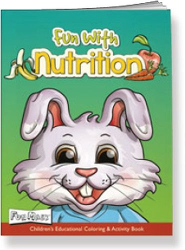 Fun Mask Coloring Book - Fun with Nutrition