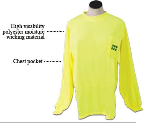 Long Sleeve Safety T-Shirt