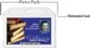 Plastic Single Card ID Holder