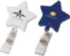 Star Retractable Badge Holder