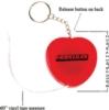 Heart Tape Measure Key Tag