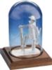 Business Card Sculpture - Fireman