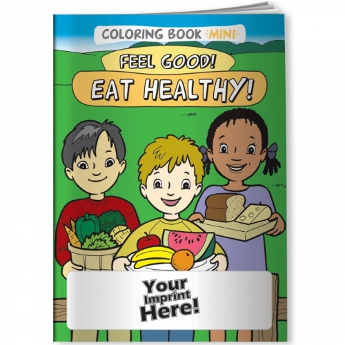 Coloring Book Mini - Feel Good! Eat Healthy!