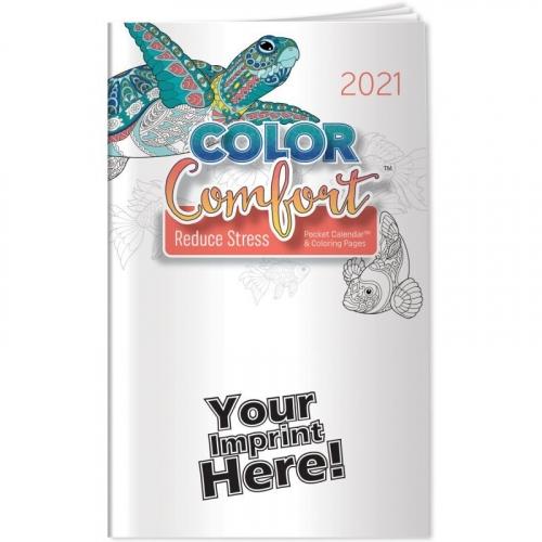 Pocket Calendar™ - 2021 Reducing Stress Color Comfort