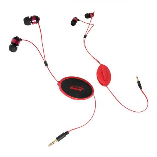 BATHURST STREET RETRACTABLE EARPHONES