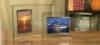 Broadway Horizontal Picture Frame w/ Silver Trim (4