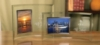 Broadway Horizontal Picture Frame w/Silver Trim (5