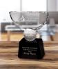 Crowned Golf Trophy