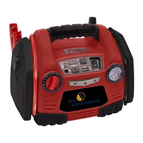 Deluxe PowerStation w/ Air Compressor & 200W Inverter