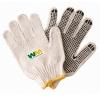 Cotton Work Gloves w/ Rubber Grip Dots