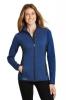 Eddie Bauer Ladies Full-Zip Heather Stretch Fleece Jacket.