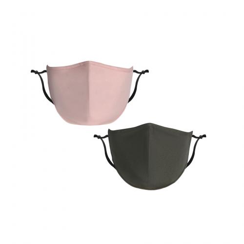 Urban Premium 3D Cotton Mask + Antimicrobial Additive - Bulk Blank (unimprinted)