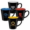 Splash - 12 oz. Two Tone Ceramic Mug