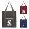North Park Deluxe - Non-Woven Shopping Tote Bag