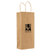 Kraft Paper Bag for Wine Bottles - 5.5
