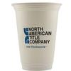 16 Oz. Economy White Plastic Cup