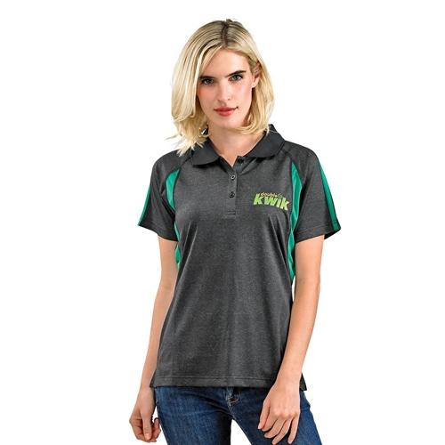 Short Sleeve Polo Shirt Two Toned Shirt