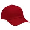 Adult Unstructured Polo Twill Cap w/ Brass Buckle Closure