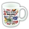 11 Oz. White Ceramic Mug w/4 Color Process