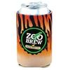 Custom Patented Coolie Beverage Insulator w/ 4 Color Process