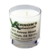 11 Oz. Clear Glass Candle