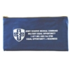 10 Oz. Colored Canvas Deluxe Deposit/ Organizer Bag (10 1/2