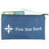 10 Oz. Colored Canvas Standard Deposit/ Organizer Bag