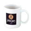 11 Oz. White Economy Ceramic Coffee Mug