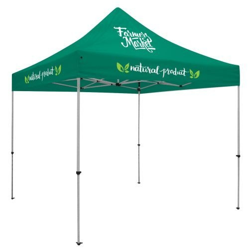 10' Deluxe Tent Kit (Full-Color Imprint, 3 Locations)