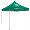 10' Deluxe Tent Kit (Full-Color Imprint, 2 Locations)