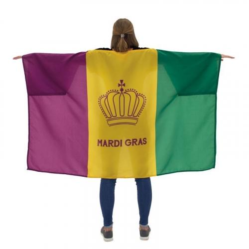 Mardi Gras Body Flag