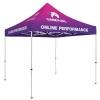 10' Standard Tent Kit (Full-Bleed Dye Sublimation)
