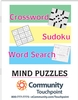 Giant Size Combination Puzzle Book w/ Easy to Read Print